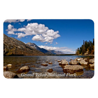 GRAND TETON LANDSCAPE RECTANGULAR PHOTO MAGNET
