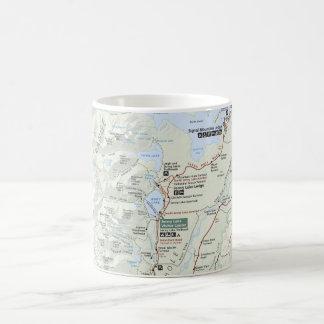 Grand Teton map mug