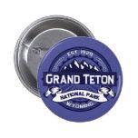 Grand Teton Midnight Pinback Button