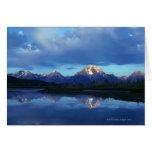 Grand Teton mountain range 2 Greeting Cards