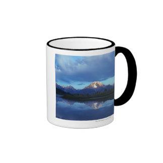 Grand Teton mountain range 2 Ringer Coffee Mug