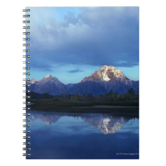 Grand Teton mountain range 2 Spiral Notebook
