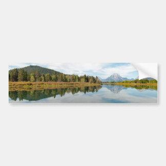 Grand Teton Mountains Bumper Sticker