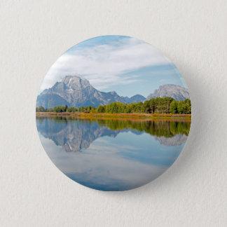 Grand Teton Mountains Button