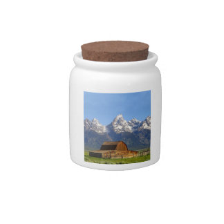 Grand Teton mountains Candy Dishes