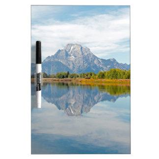 Grand Teton Mountains Dry-Erase Boards