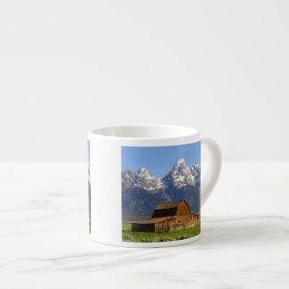 Grand Teton mountains Espresso Cup