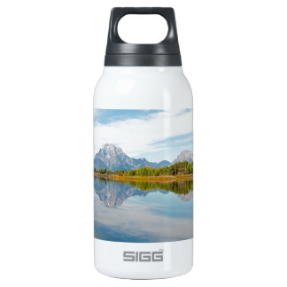 Grand Teton Mountains Insulated Water Bottle