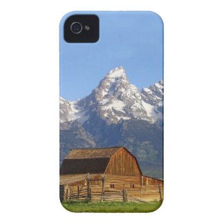 Grand Teton mountains iPhone 4 Case-Mate Cases