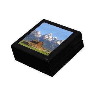 Grand Teton mountains Keepsake Box