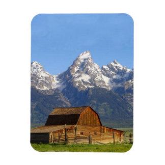 Grand Teton mountains Magnets