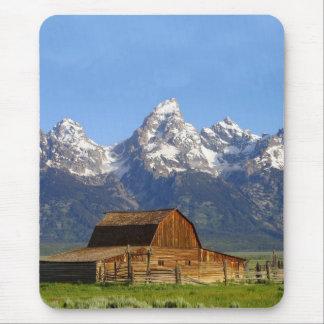 Grand Teton mountains Mouse Pad