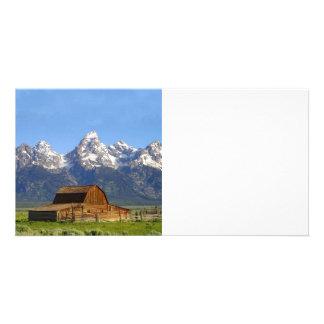 Grand Teton mountains Photo Cards