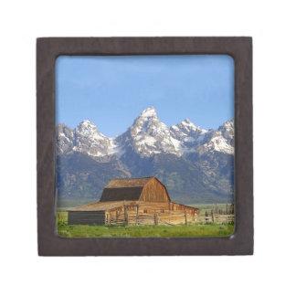 Grand Teton mountains Premium Keepsake Box