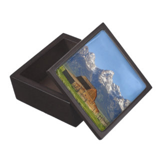 Grand Teton mountains Premium Trinket Box