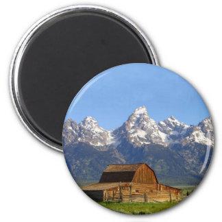 Grand Teton mountains Refrigerator Magnet