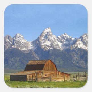 Grand Teton mountains Sticker