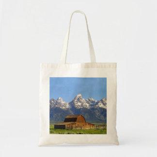Grand Teton mountains Tote Bag