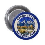 Grand Teton National Park 2 Inch Round Button