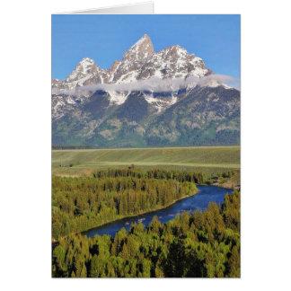 Grand Teton National Park 3 Card