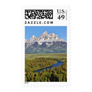 Grand Teton National Park 3 Postage Stamps
