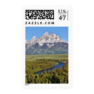 Grand Teton National Park 3 Postage Stamp