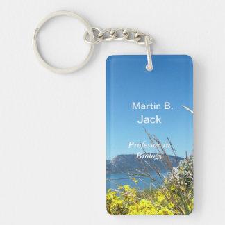 Grand Teton National Park and name key chain