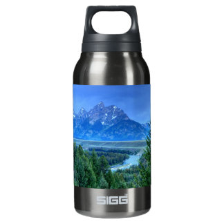 Grand Teton National Park at Sunset Insulated Water Bottle