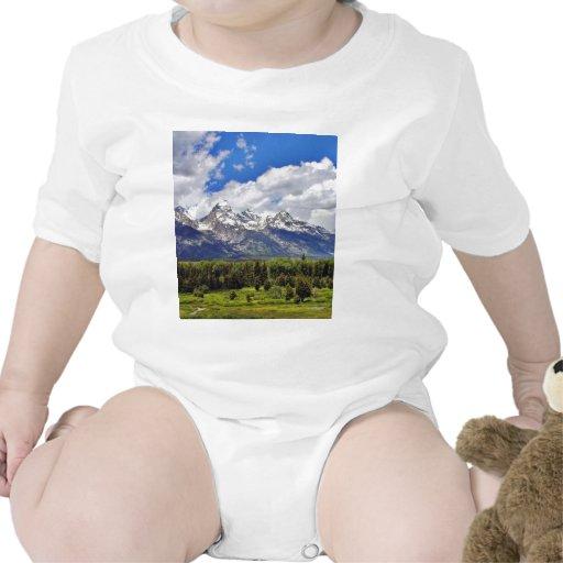 Grand Teton National Park. Baby Bodysuits