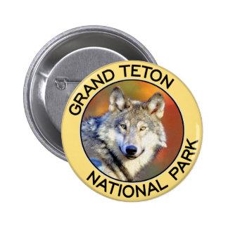 Grand Teton National Park Pinback Buttons