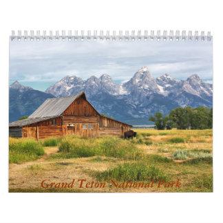 Grand Teton National Park Calendar