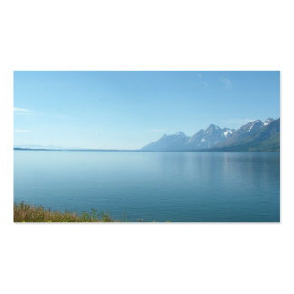 Grand Teton National Park Double-Sided Standard Business Cards (Pack Of 100)