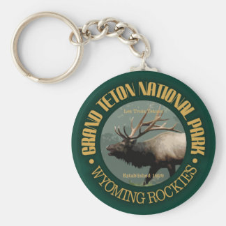 Grand Teton National Park (elk) Keychain