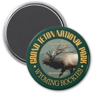 Grand Teton National Park (elk) Magnet