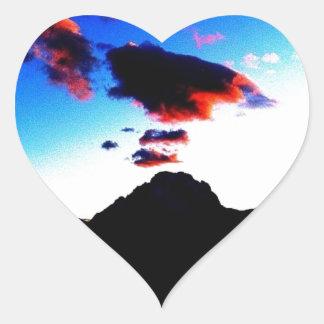 Grand Teton National Park Heart Sticker