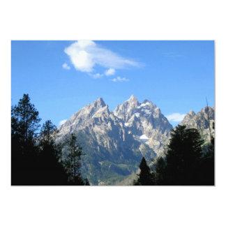 Grand Teton National Park 5x7 Paper Invitation Card