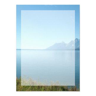 Grand Teton National Park. 5.5x7.5 Paper Invitation Card