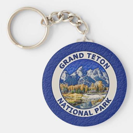 Grand Teton National Park Keychain