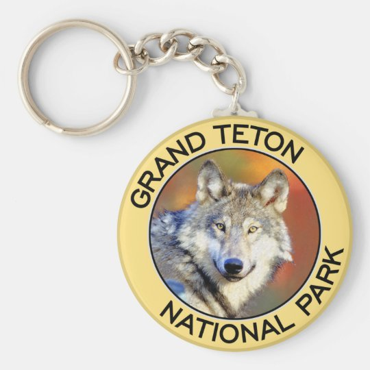 Grand Teton National Park Keychain
