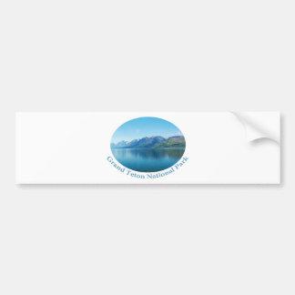 Grand Teton National Park landscape photography. Bumper Sticker