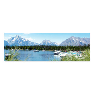 Grand Teton National Park landscape photography Business Card Templates