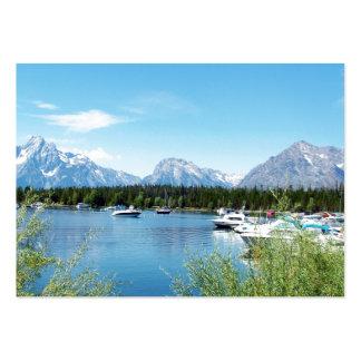 Grand Teton National Park landscape photography Business Cards