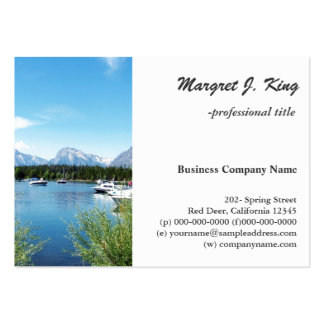 Grand Teton National Park landscape photography Business Card