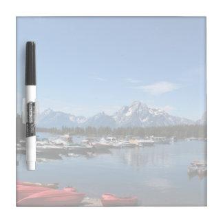Grand Teton National Park. Landscape photography Dry Erase Whiteboards