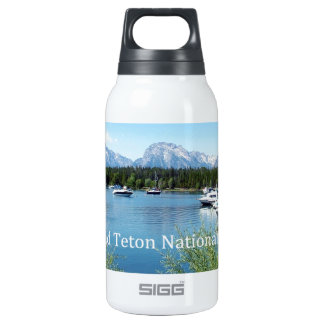 Grand Teton National Park landscape photography. Insulated Water Bottle
