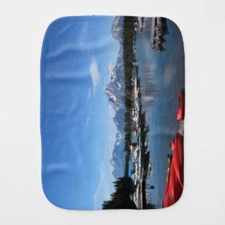 Grand Teton National Park. Landscape photography Baby Burp Cloth