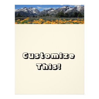 Grand Teton National Park Letterhead
