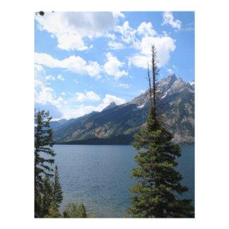 Grand Teton National Park. Letterhead Design