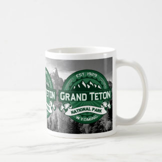 Grand Teton National Park Logo Coffee Mug