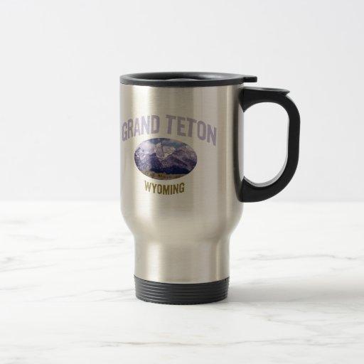 Grand Teton National Park 15 Oz Stainless Steel Travel Mug